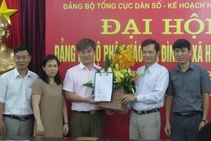 Tổng cục DS-KHHGĐ bổ nhiệm Phó tổng biên tập Báo GĐ&XH